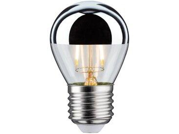 Paulmann LED Retro-Tropfen 4,5W E27 Kopfspiegel Silber Warmweiß dimmbar