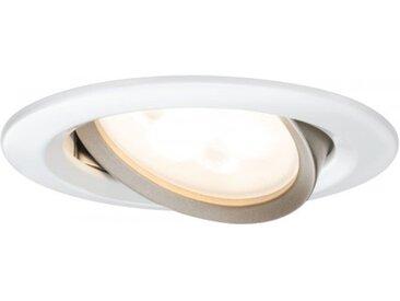 Paulmann Einbauleuchte LED Nova rund 5W GU10 Weiß/Gold 3er-Set WarmDim und s...