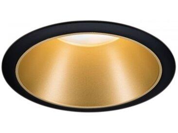 Paulmann Einbauleuchte LED Cole 6,5W Schwarz/Gold matt 3-Stufen-dimmbar 2700...