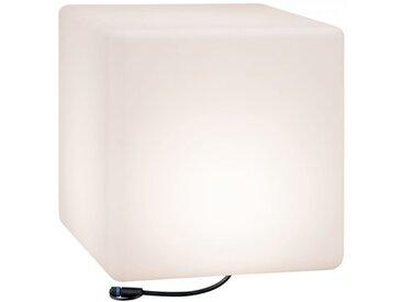Paulmann Plug & Shine Lichtobjekt Cube IP67 3000K 24V Kantenlänge 40cm