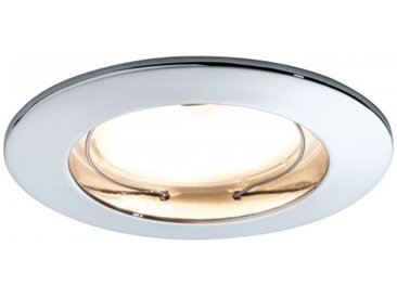 Paulmann Einbauleuchte LED Coin satiniert rund 7W Chrom 1er-Set dimmbar