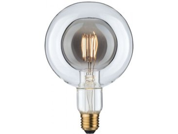 Paulmann LED Inner Shape Globe G125 4 Watt Rauchglas E27 2.700K Warmweiß
