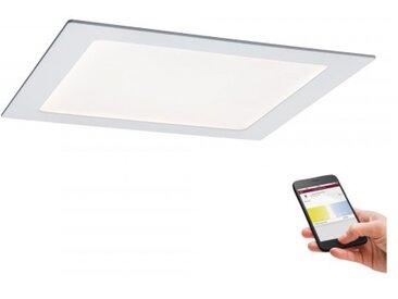 Paulmann SmartHome LED Einbaupanel eckig 13,5W Weiß mit Weißlichtsteuerung