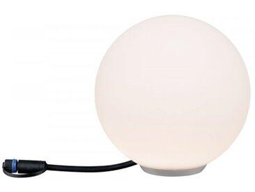 Paulmann Plug & Shine Lichtobjekt Globe IP67 3000K 24V Durchmesser 20cm