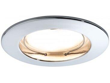 Paulmann Einbauleuchte LED Coin satiniert rund 7W Chrom 3er-Set dimmbar