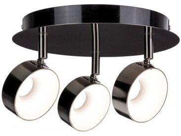Paulmann LED Strahler Funnel 3-flammig 3x6W dimmbar Schwarzchrom/Chrom