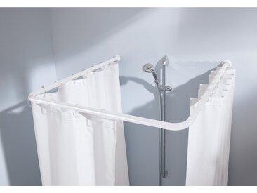 Kleine Wolke Universalstange für Duschvorhänge Metall Weiß
