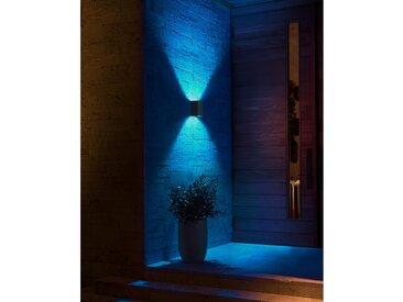 Philips Hue LED-Außenwandleuchte Resonate Schwarz EEK: A+
