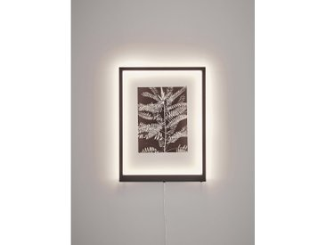 Markslöjd Wandleuchte Frame 70 cm x 50 cm Schwarz EEK: A++-A
