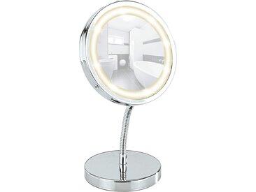 Wenko LED Kosmetik-Standspiegel Brolo 3-fache Vergrößerung