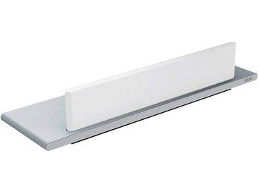 Keuco Duschablage Edition 400 mit Glasabzieher Aluminium-Silber-Eloxiert