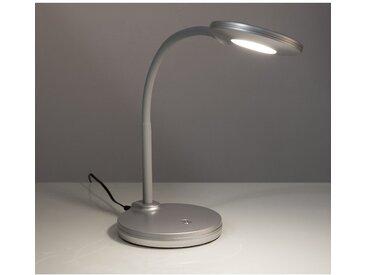 Nino Leuchten LED-Tischlampe Carmen Silber 3-fach Dimmer EEK: A+