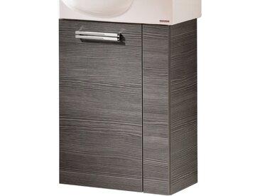 Fackelmann Waschbeckenunterschrank Gaste-WC links 44 cm Como Pinie