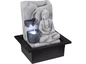 Globo LED-Brunnen Albert Kunststoff Grau EEK: A++-E