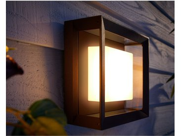 Philips Hue White & Color Ambiance Econic LED-Wandleuchte quadratisch EEK: A