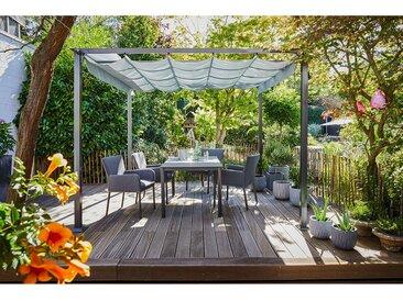 Gartentisch Harris Rechteckig Creatop Zement-Optik 160 cm x 90 cm