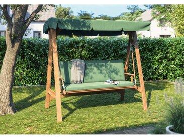 Hollywoodschaukel Chelsea FSC®-Eukalyptusholz Grün