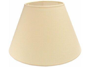 Lampenschirm Chintz Topfform 35 cm Creme