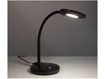 Nino Leuchten LED-Tischlampe Carmen Schwarz 3-fach Dimmer EEK: A+
