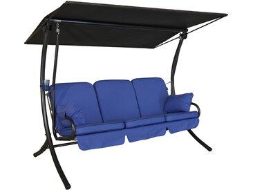 Angerer Hollywoodschaukel Star Detroit 3-Sitzer Hellblau