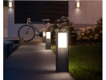 Philips Hue LED-Sockelleuchte Turaco Anthrazit EEK: A+