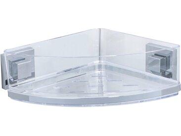 Wenko Vacuum-Loc® Eckablage Quadro Edelstahl
