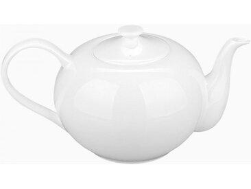 Lunasol - Porzellan-Teekanne weiß 1,2 l - Premium Platinum Line (450212)