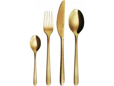Sola - Besteckset 24 tlg. - Montreal PVD Gold - Lines (128023)