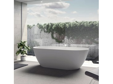 Riho Solid Surface Oval-Badewanne 170 cm