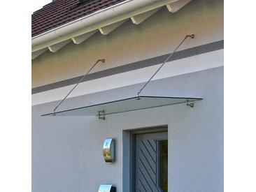 Home Deluxe Glasvordach - 150 x 90 cm