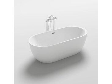 Home Deluxe Freistehende Badewanne CODO - Weiß