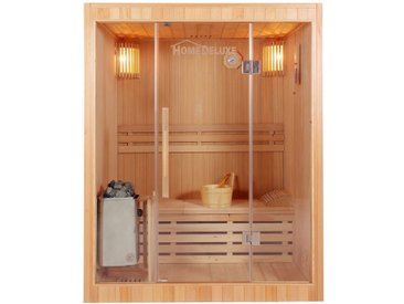 Home Deluxe Traditionelle Sauna SKYLINE - L