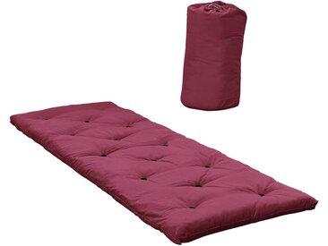 Bed in a Bag Schlafmatte Futon Farbton Bordeaux 70 x 190 cm von Karup