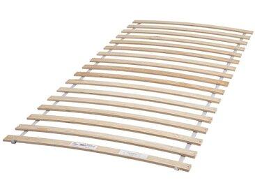Rolllattenrost  90 x 200 mit 17 federnden Leisten aus Birke-Schichtholz