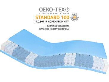 AM Qualitätsmatratzen | Premium 7-Zonen Taschenfederkernmatratze H1 - 100x220cm