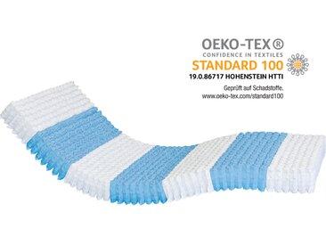 AM Qualitätsmatratzen | 1000 Federn 7-Zonen Taschenfederkernmatratze H1 - 100 x 200 cm