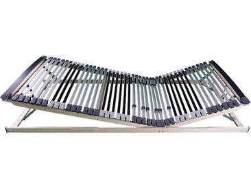 AM Qualitätsmatratzen | Ergonomischer 7-Zonen Lattenrost 100 x 190 cm, Kopf- & Fußteil verstellbar, gebrauchsfertig geliefert