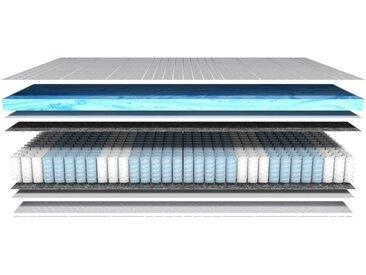 7 Zonen Gelschaum-Taschenfederkernmatratze H2 - 90 x 200 cm - AM Qualitätsmatratzen