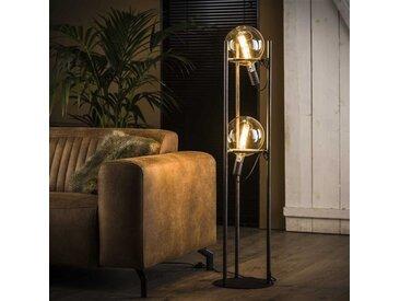 Willow Stehlampe Industrial 2-Leuchten