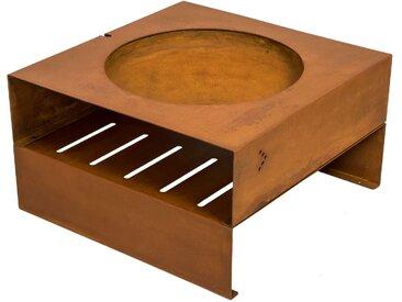 Light-my-fire Cube Feuerstelle Keilbach Designprodukte braun