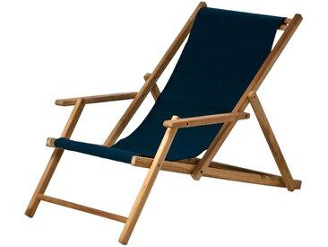 Maxx Deckchair Liegestuhl Acryl Jan Kurtz blau