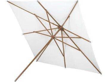 Skagerak Messina Sonnenschirm quadratisch ohne Schirmständer weiss