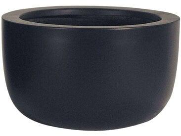 amei Stonefiber Pot Schale Blumentopf schwarz