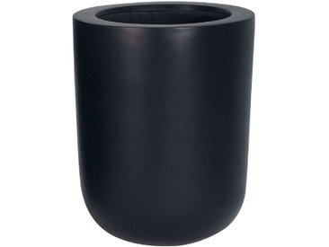 amei Stonefiber Pot Bottich Blumentopf schwarz