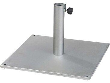 ikarus Metall Schirmständer grau