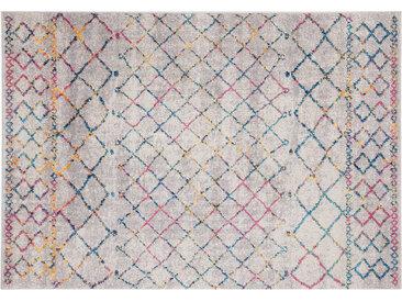 Teppich im Berber-Stil grau und mehrfarbig 160 x 230 cm CIELO