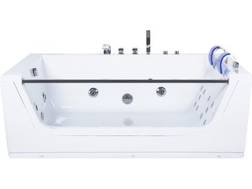 Whirlpool-Badewanne mit LED CUBA