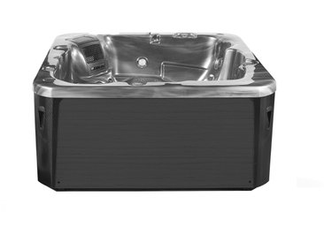 Whirlpool silber / dunkelgrau Outdoor mit LED SOMBRERO
