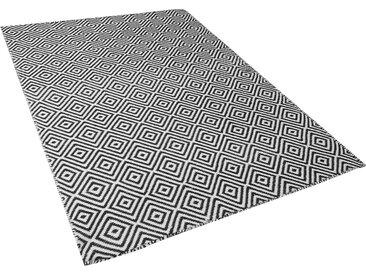 Outdoor Teppich schwarz/weiß 140 x 200 cm IMIRCIK
