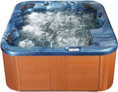 Whirlpool blau Outdoor 200 x 200 cm SANREMO